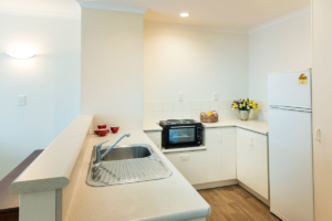 Wairarapa Village Apartment Kitchenette